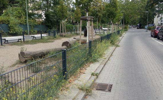Spielstraße in der Mittelbruchzeile