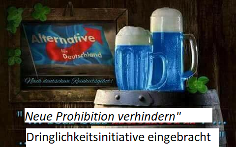Eine neue Prohibition verhindern – Berliner Kneipen vor dem Existenzverlust bewahren!