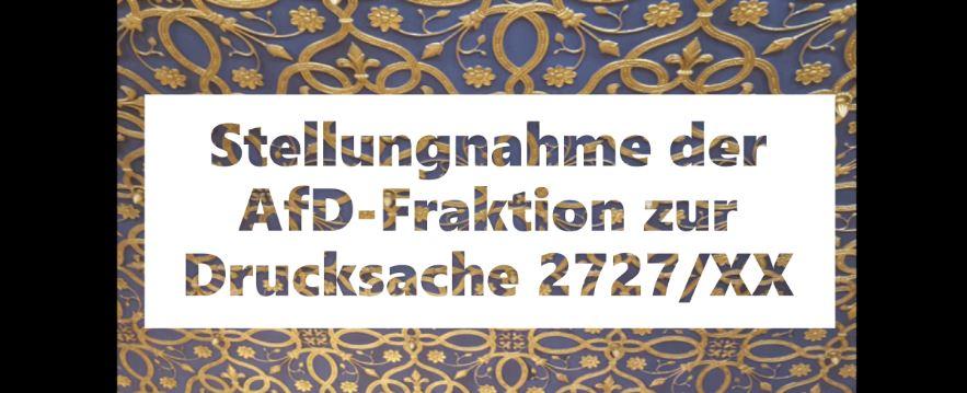 Antwort auf die Corona-Resolution der CDU